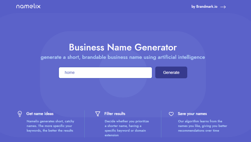 come up with blog name namelix